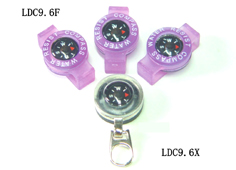 Zipper compass