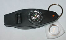 Lifesaving compass