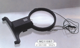 Head and Hanging Magnifier